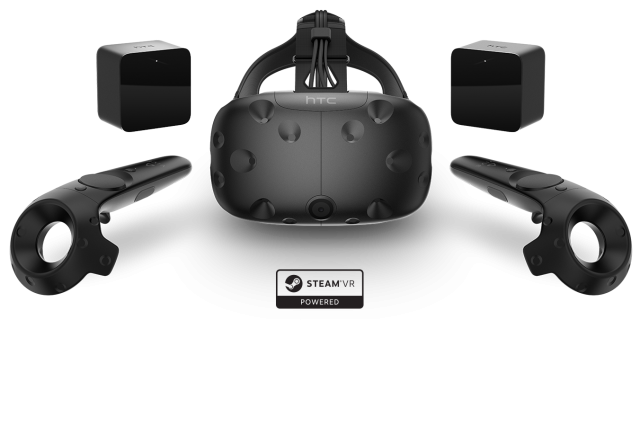 We Took The HTC Vive VR For A Spin, Is This The Future Of Gaming? product family steamlogo 640x426