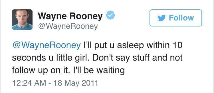 rooney little girl Wayne Rooney Ripped To Shreds After Liking Very NSFW Tweet