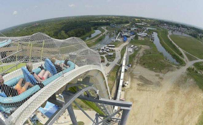 Boy Dies After Accident On Worlds Biggest Waterslide slide