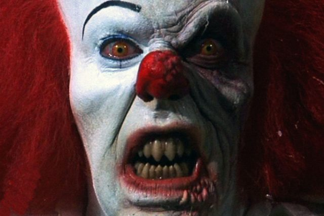 Police Investigating Clown Seen Trying To Lure Children Into Woods stephen king it pennywise 640x426