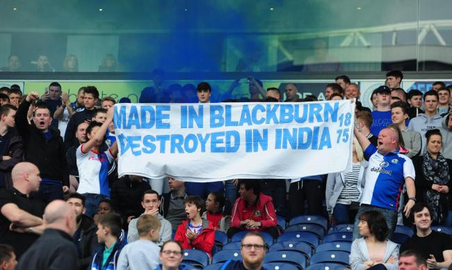 venkys1 Blackburn Rovers Fans Hit Back At Venky Family While Raising Money For Charity