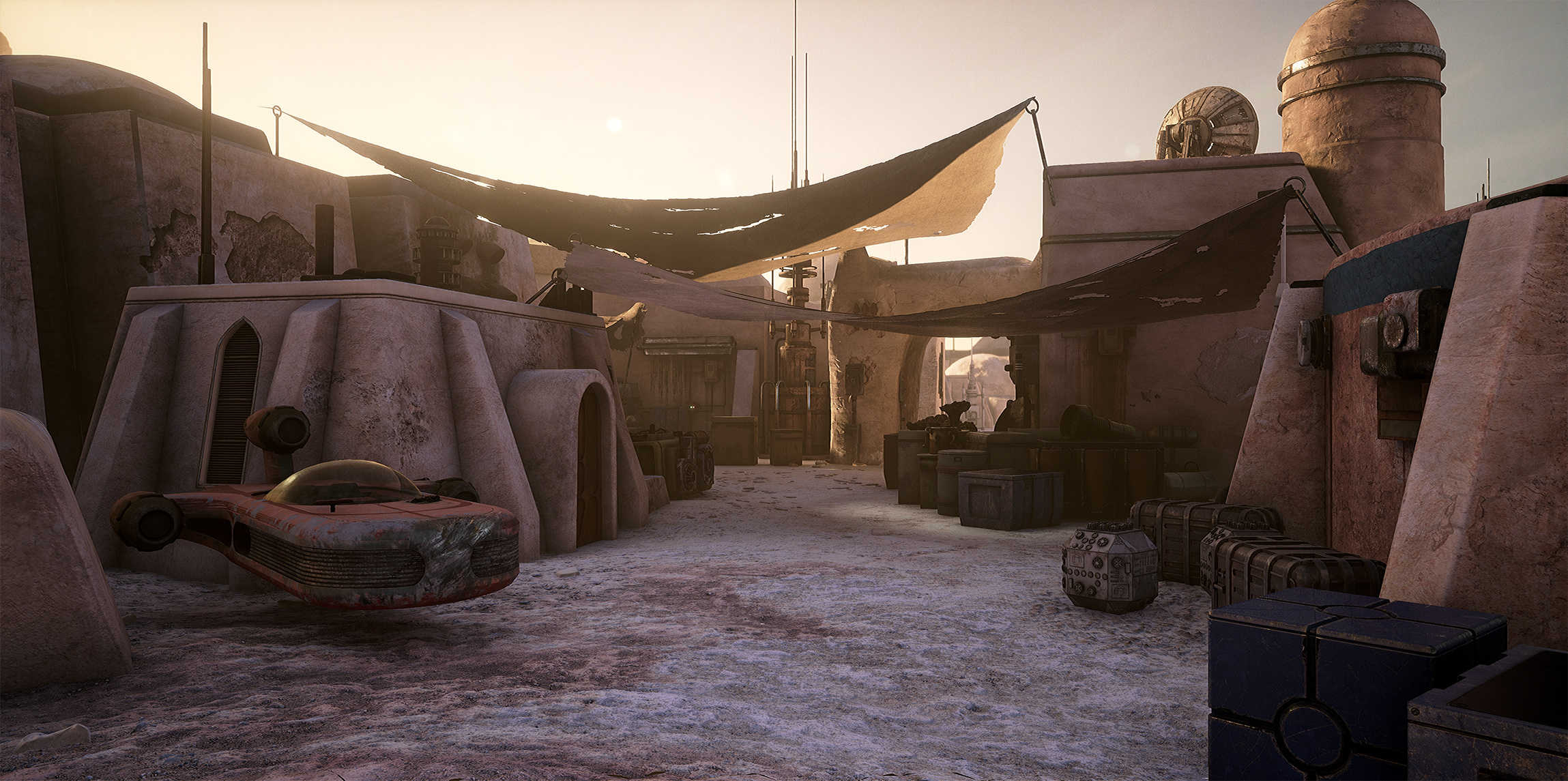Star Wars Looks Absolutely Stunning On Unreal Engine 4 0bMQwb9