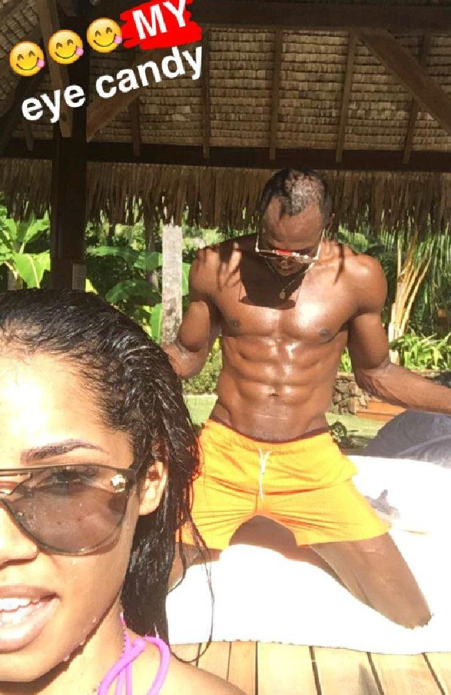 2 1 Usain Bolt Breaks Silence On Cheating Rumours In Snapchat Story