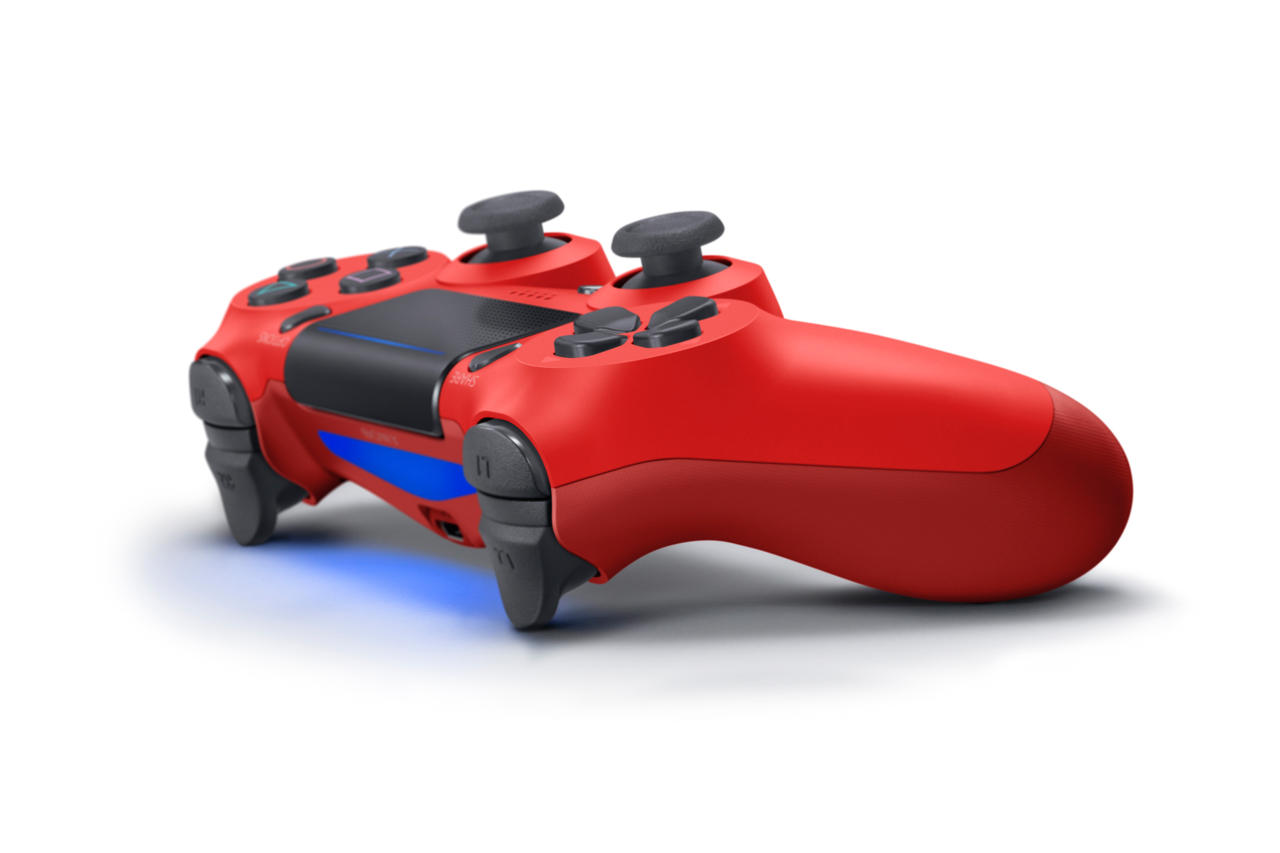 3126240 dualshock4 2 magmared 02 PS4 To Get A Ton Of New Accessories, Including New Controller