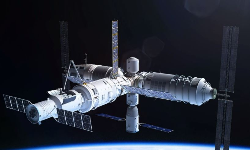Capture 5 Out Of Control Chinese Space Station To Crash Into Earth