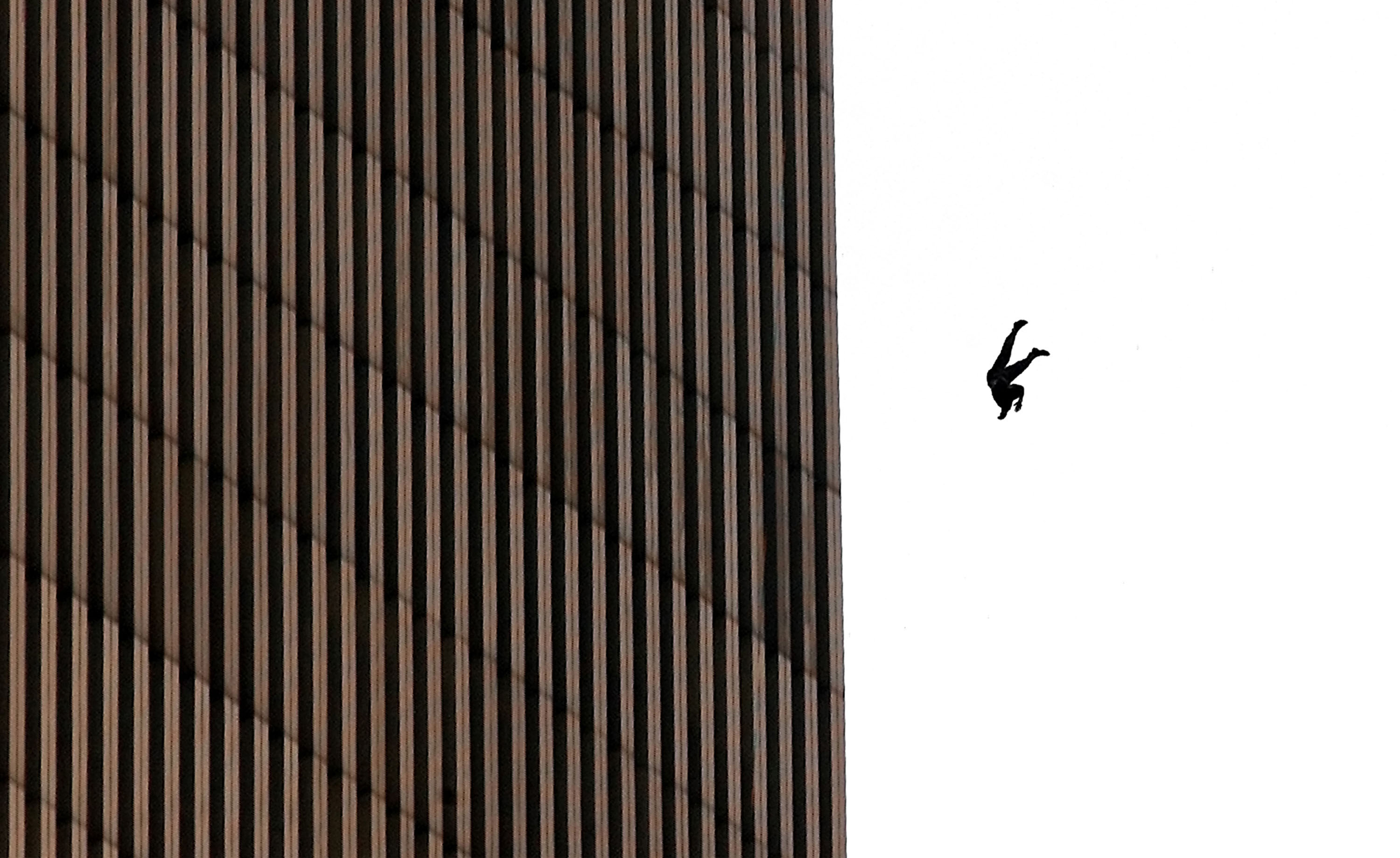 GettyImages 678240 Mystery Behind The Man Who Fell From The Twin Towers On 9/11