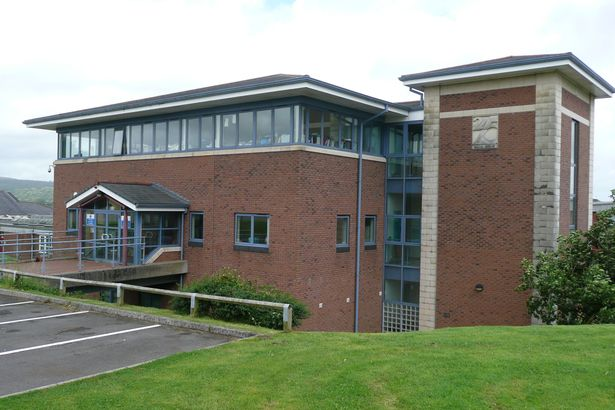 Radyr Comprehensive School reception