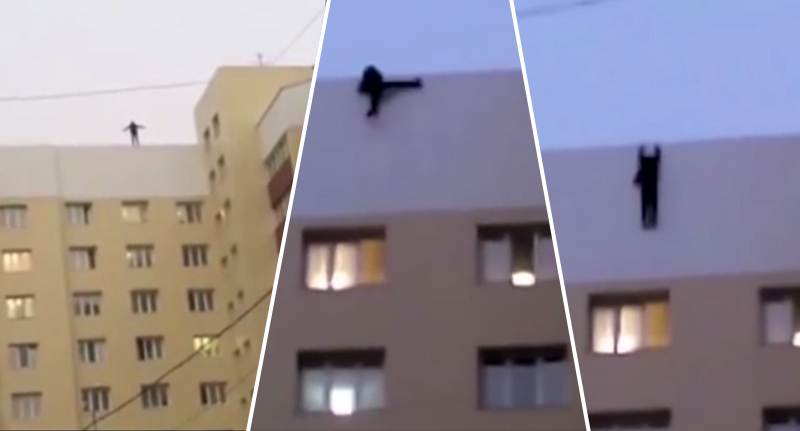 Teenager Falls To His Death Trying To Take A Selfie RussianTeenFall