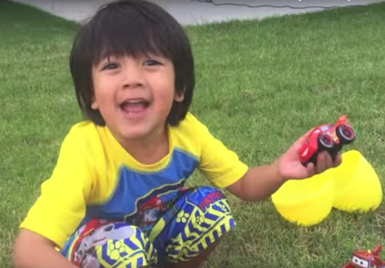 This 4 Year Old Boy Is More Popular On YouTube Than PewDiePie And Justin Bieber Ryan ToysReview