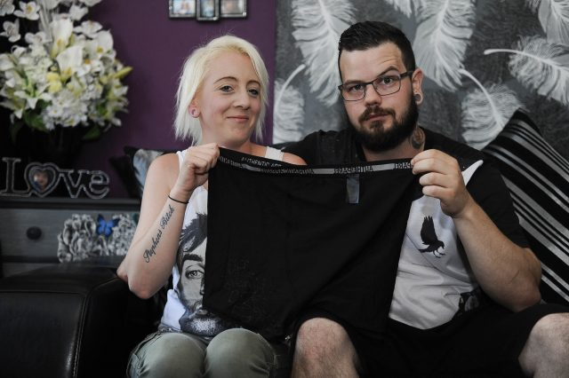 SWNS PRIMARK MESSAGE 06 640x426 Woman Believes She Found Coded Cry For Help In Primark Underwear
