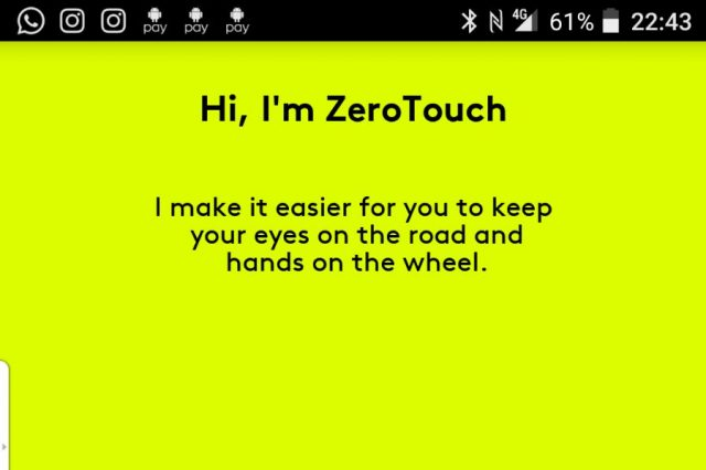 Tech Reviews: Logitech ZeroTouch   Keep Your Eyes On The Road