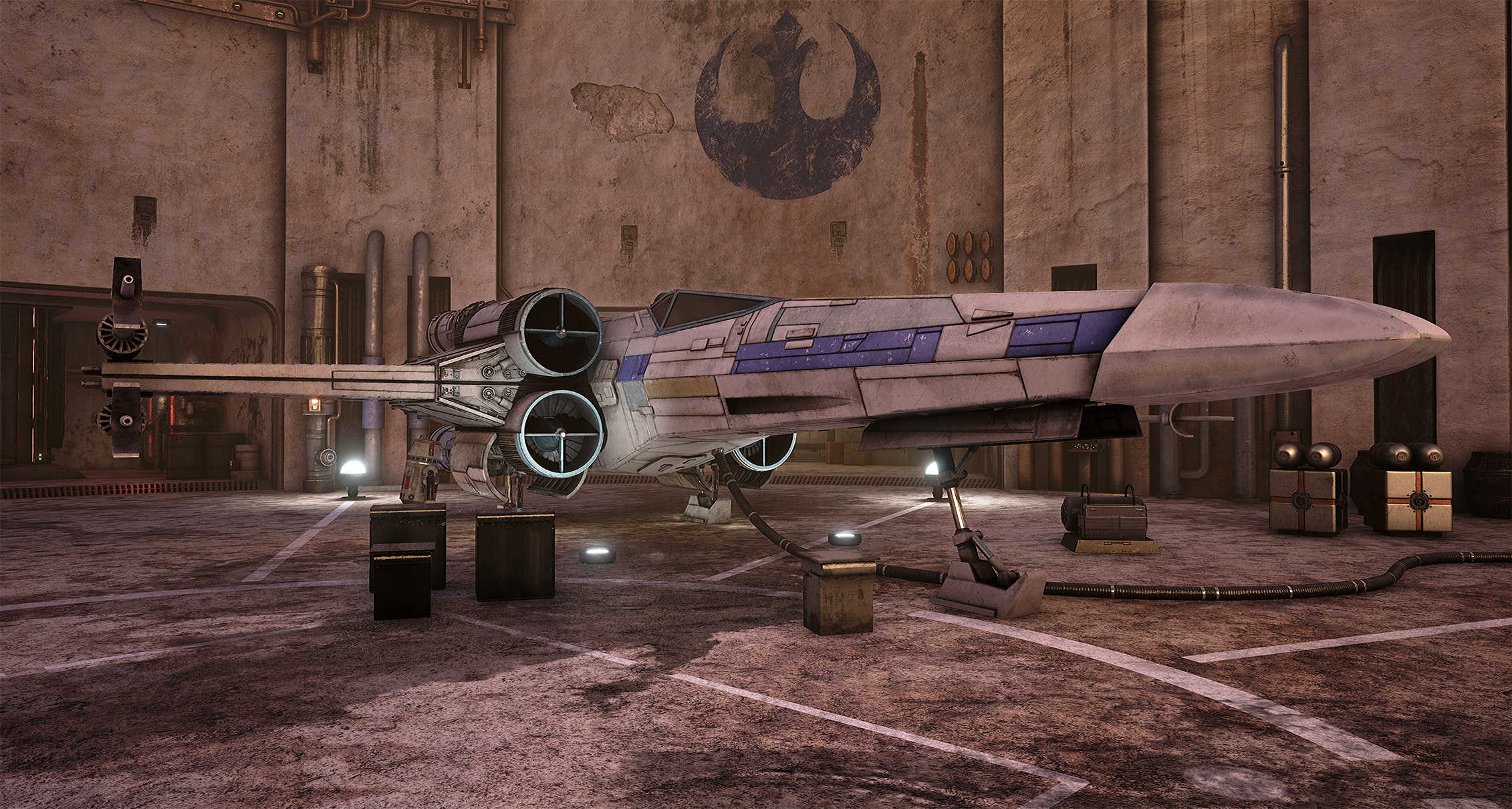 Star Wars Looks Absolutely Stunning On Unreal Engine 4 Wu55XG4