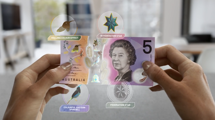 australia bank note Australias New Bank Note Looks Like Something From Science Fiction