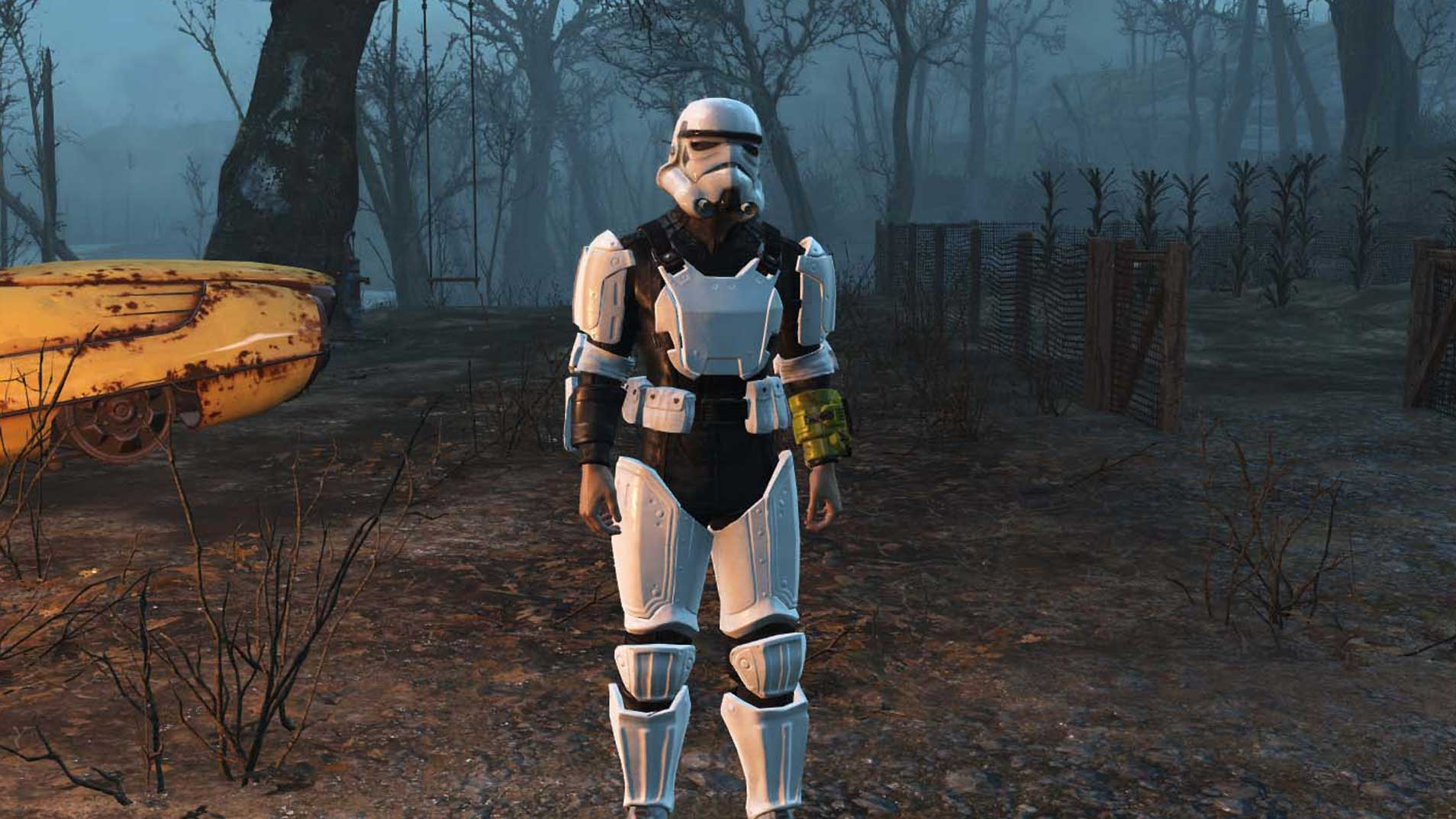 fallout 4 mods star wars stormtrooper Bethesda Game Mods No Longer Coming To PS4