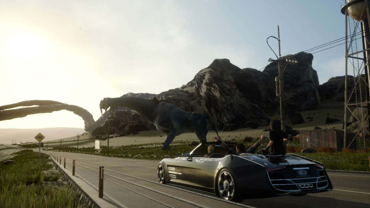 ffxv car ride Final Fantasy 15s Stunning New Trailer Highlights Some Incredible Environments