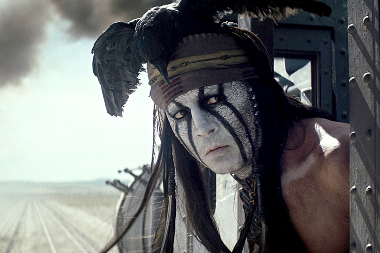 johnny depp tonto train Is Johnny Depp The Most Overrated Actor Alive?