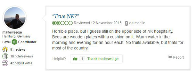 pic 1 2 These TripAdvisor Reviews Show How Miserable North Korea Really Is