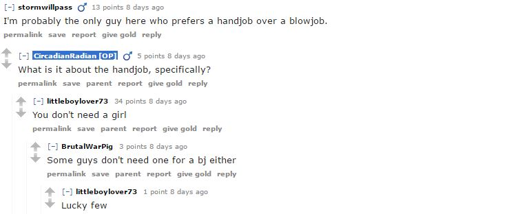 Over Sharing Guys Reveal Whether They Prefer Sex Or Blowjobs problow3
