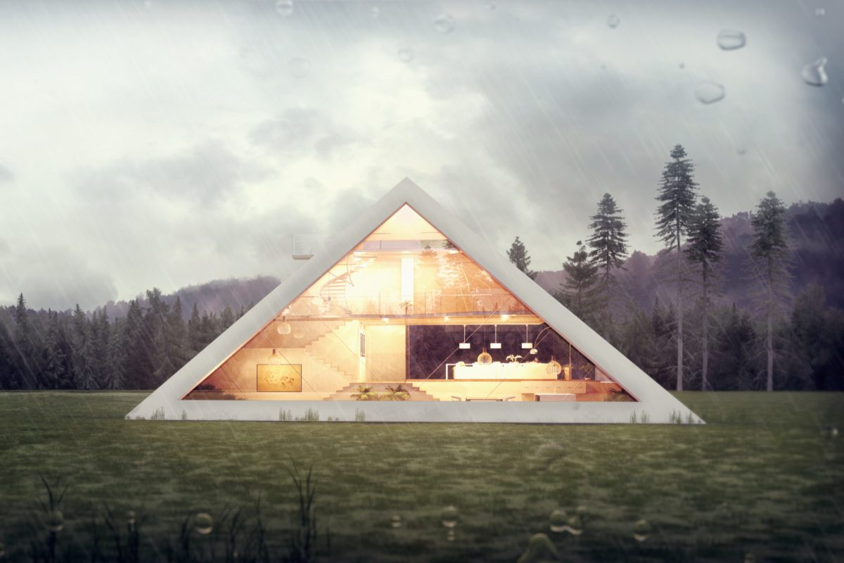 pyramidhouse 1200x800 Someone Designed A Perfect Pyramid House And We Want It