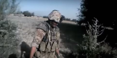 Viral Footage Shows Soldiers Taking Down Taliban Extremists soldier one