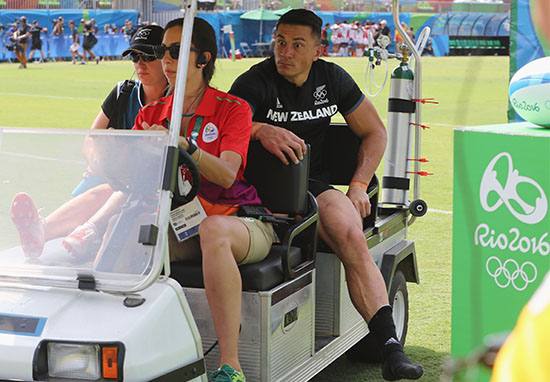 sonny1 Sonny Bill Williams Has Ingenious Way To Train Despite Wearing Soft Cast