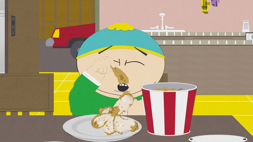 south park s09e06c01 fried chicken 16x9 Woman Finds Worst Possible Thing In Her Fried Chicken
