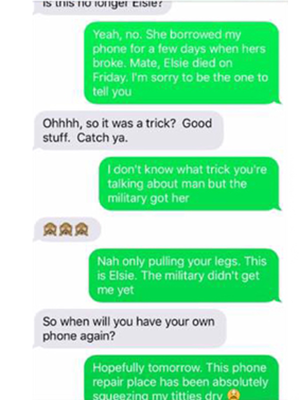 texts10 Girl Keeps Giving Out Guys Number As A Fake   Hilarious Trolling Ensues