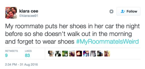 twitter 14 Twitter Users Share Their Weirdest And Wackiest Roommate Stories