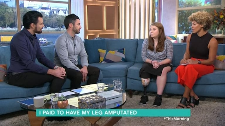 Girl Pays To Have Her Leg Amputated Over Ingrowing Toe Nail 11016UNILAD imageoptim nintchdbpict000278248194