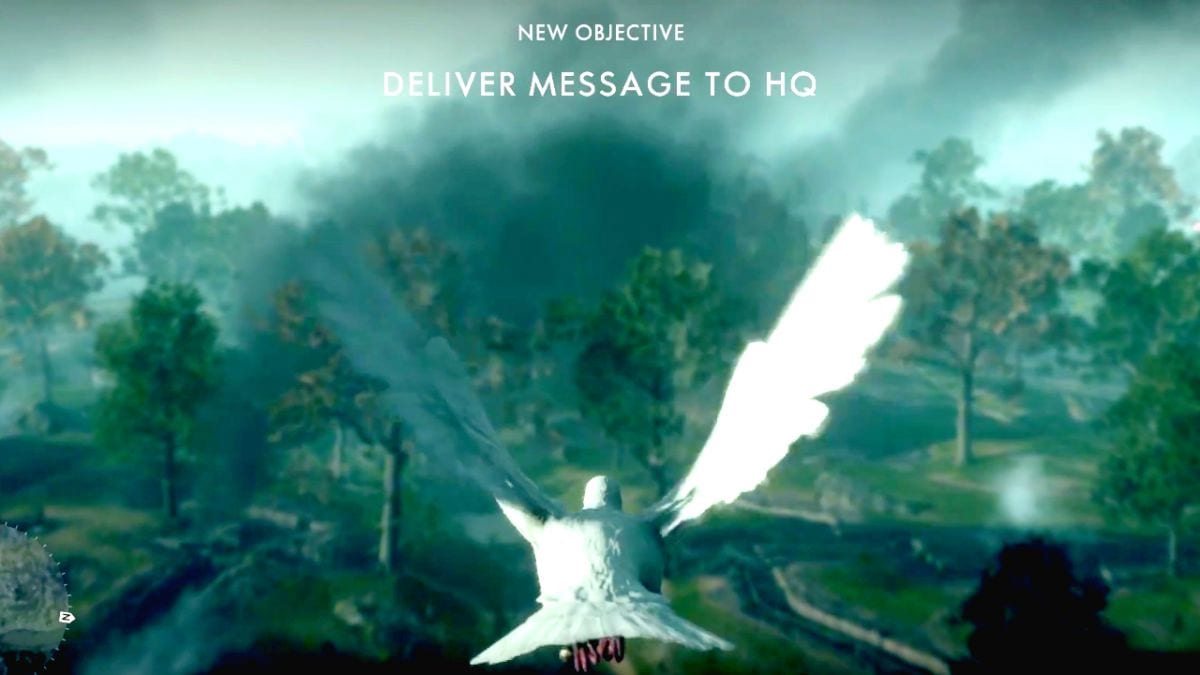Watch Battlefield 1s Bizarre Pigeon Mission In Action 11738UNILAD imageoptim hup3MJU2FNG7YmNgYmF8Vg 1200 80