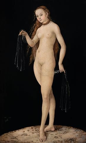 21374UNILAD imageoptim Venus by Lucas Cranach the Elder 1531. Oil on panel Wikimedia Colnaghi This Is How Easy It Is To Trick Experts And Make Millions From Fake Art