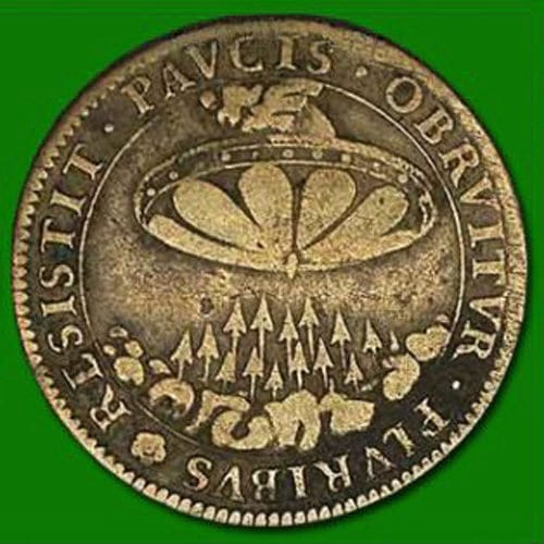 People Think These Ancient Coins Prove The Existence Of Aliens 23926UNILAD imageoptim alien coins 673839