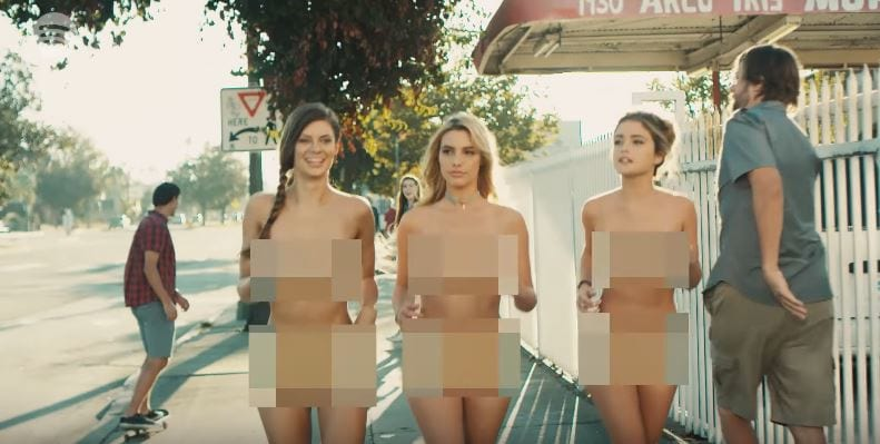 29639UNILAD imageoptim Blink182 naked instagram models Blink 182 Just Dropped An NSFW Music Video Starring Naked Instagram Models