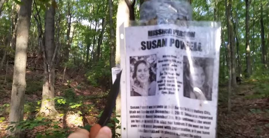 34468UNILAD imageoptim vid 2 Hiker Discovers Blair Witch Style Camp And Missing Persons Posters In Forest