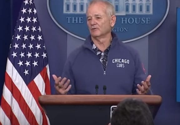 50126UNILAD imageoptim bill murray featured Bill Murray Randomly Wanders Into White House And Starts Answering Questions