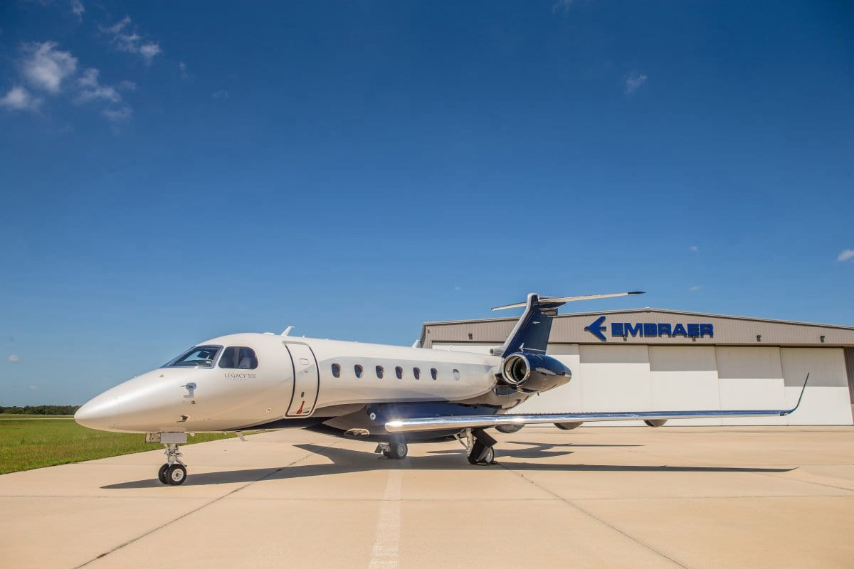 7499UNILAD imageoptim the legacy 500 is the latest offering from brazils embraer aerospace its one of the largest airplane makers in the world and produces commercial private and military aircraft Jackie Chan Has An Absolutely Amazing New Private Jet