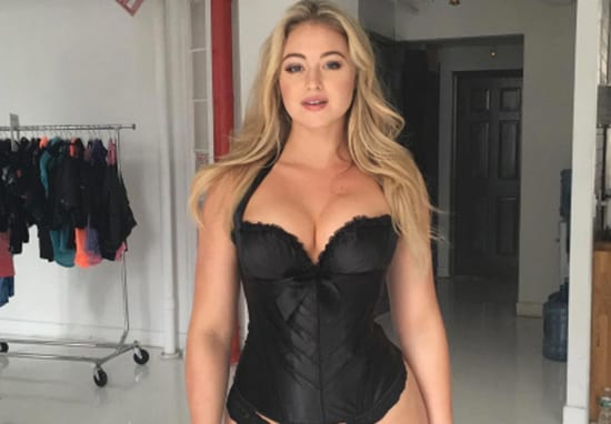 Iskra Lawrence Strips Off On The Tube With A Powerful Message