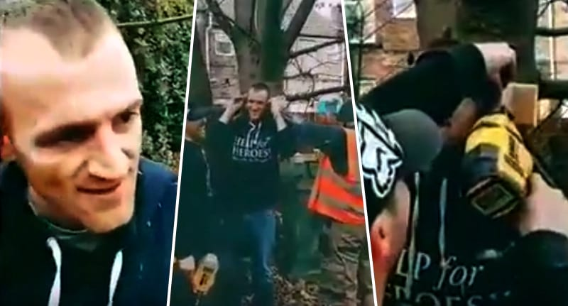 13623UNILAD imageoptim Man nails ears treeFB Absolute Idiot Nails His Ears To A Tree In Grim Footage