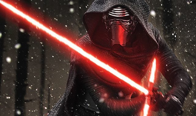 Kylo Ren's Episode VIII Costume Proves That He's Still a Vader Fanboy