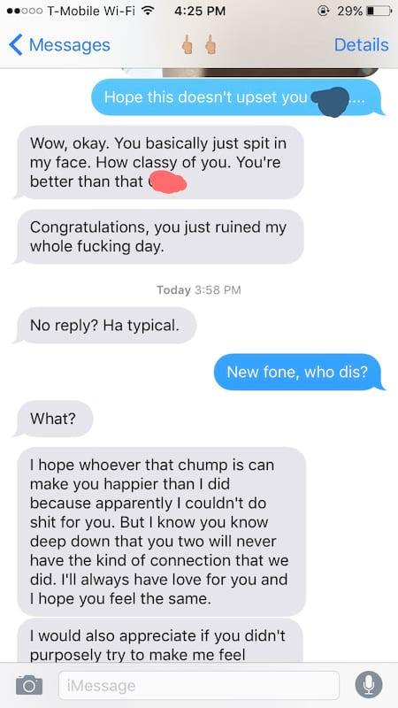1406UNILAD imageoptim guy gets revenge third message imgur Guy Provokes Jealous Ex With Photo Of New Girlfriend With Disastrous Results