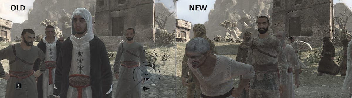 16153UNILAD imageoptim assassins creed 2016 mod comparison 3 This Assassins Creed Remaster Is Absolutely Stunning