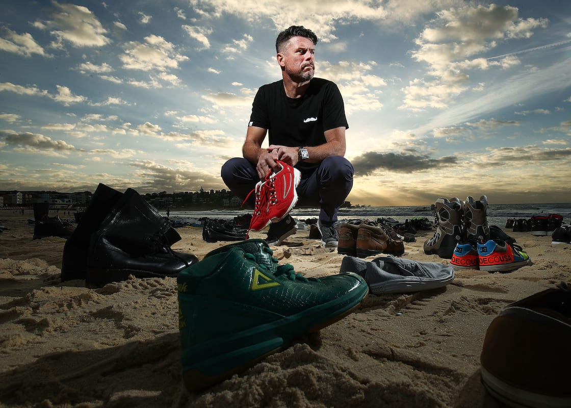 1763UNILAD imageoptim GettyImages 619575930 Shoes Left On Bondi Beach As Haunting Reminder Of Male Suicide Victims