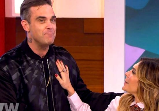 Robbie Williams Crashes Loose Women After Wife Reveals She Fakes Orgasms