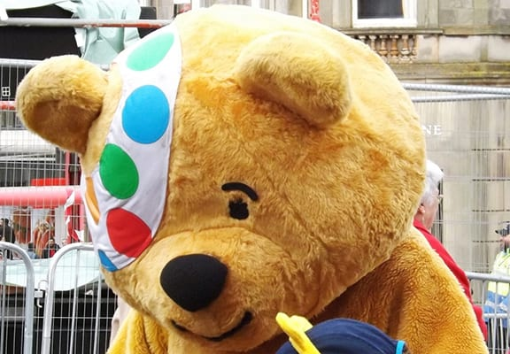 Pudsey The Bear Pictured With Young Girl 'With His D*ck Out'