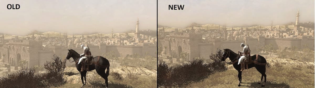 4070UNILAD imageoptim assassins creed 2016 mod comparison 2 This Assassins Creed Remaster Is Absolutely Stunning