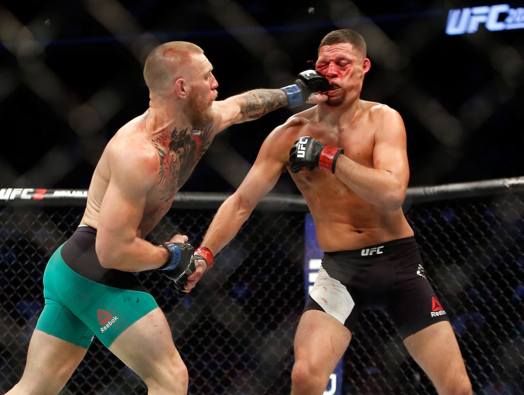 63116UNILAD imageoptim GettyImages 592620768 Nate Diaz Responds Perfectly To Conor McGregor Tweet