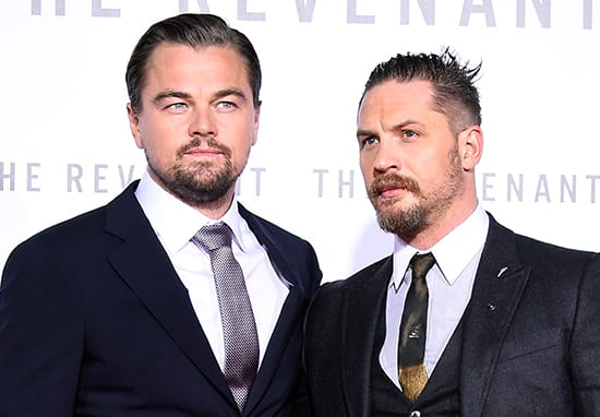 Tom Hardy Is Getting A New Tattoo After Losing A Bet To Leonardo DiCaprio