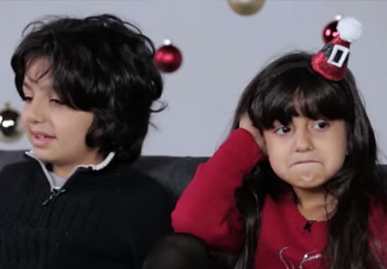 Watch As Parents Break Kids' Hearts With Truth About Santa