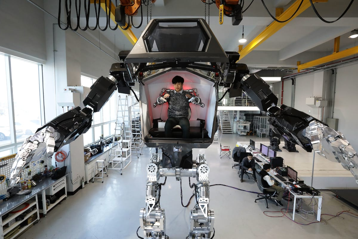 31405UNILAD imageoptim GettyImages 630566232 Giant Robot Set To Patrol North Korean Border Is Like Something Out Of Avatar