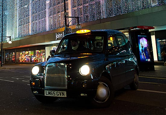 How Everyone Can Get A Free Taxi This Christmas Eve